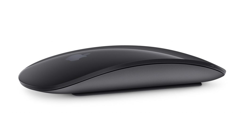 2018年 春季發表 黑色蘋果滑鼠
