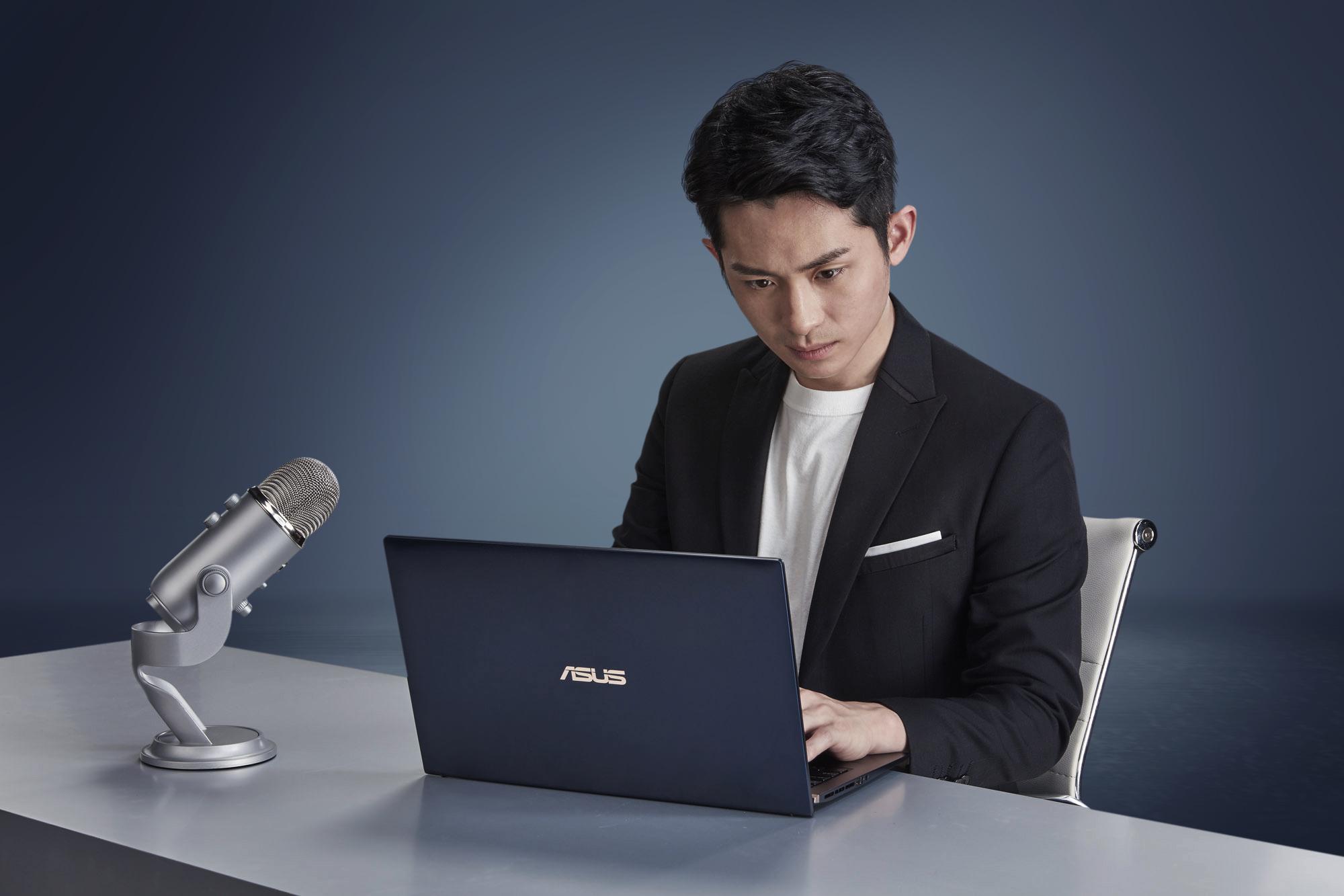 ASUS ZenBook推薦大使,分享人生理念、堅持夢想的過程,系列影片預計3月21日起首播。