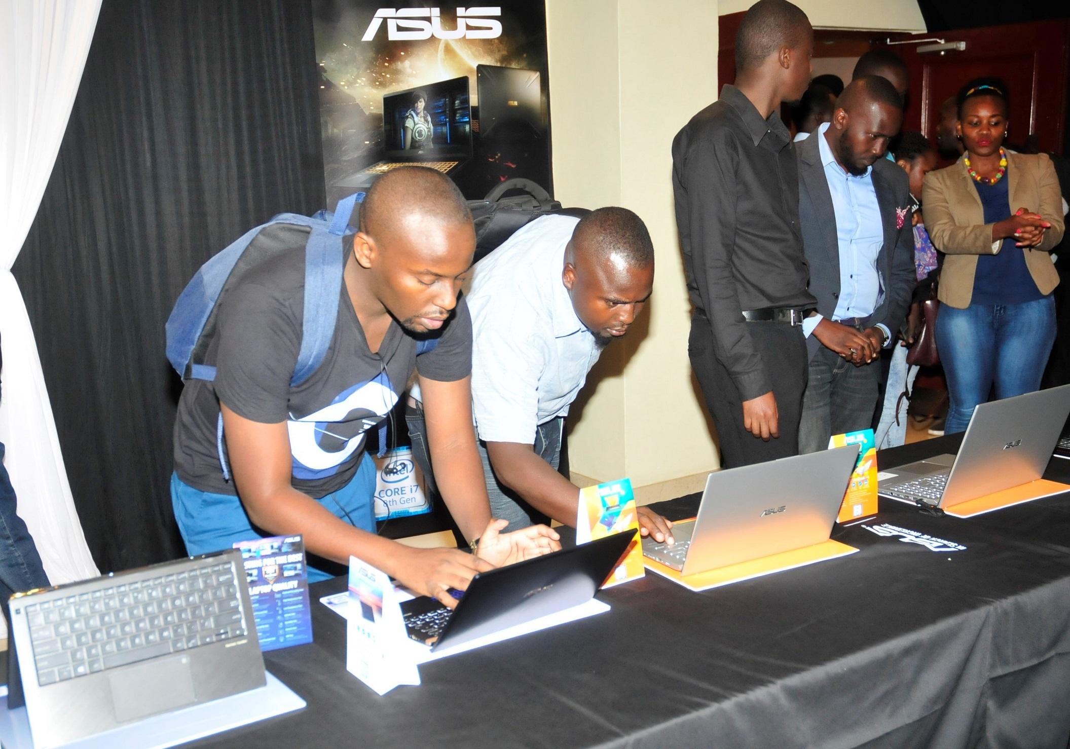 華碩 將全系列的筆電產品帶給非洲的消費者。