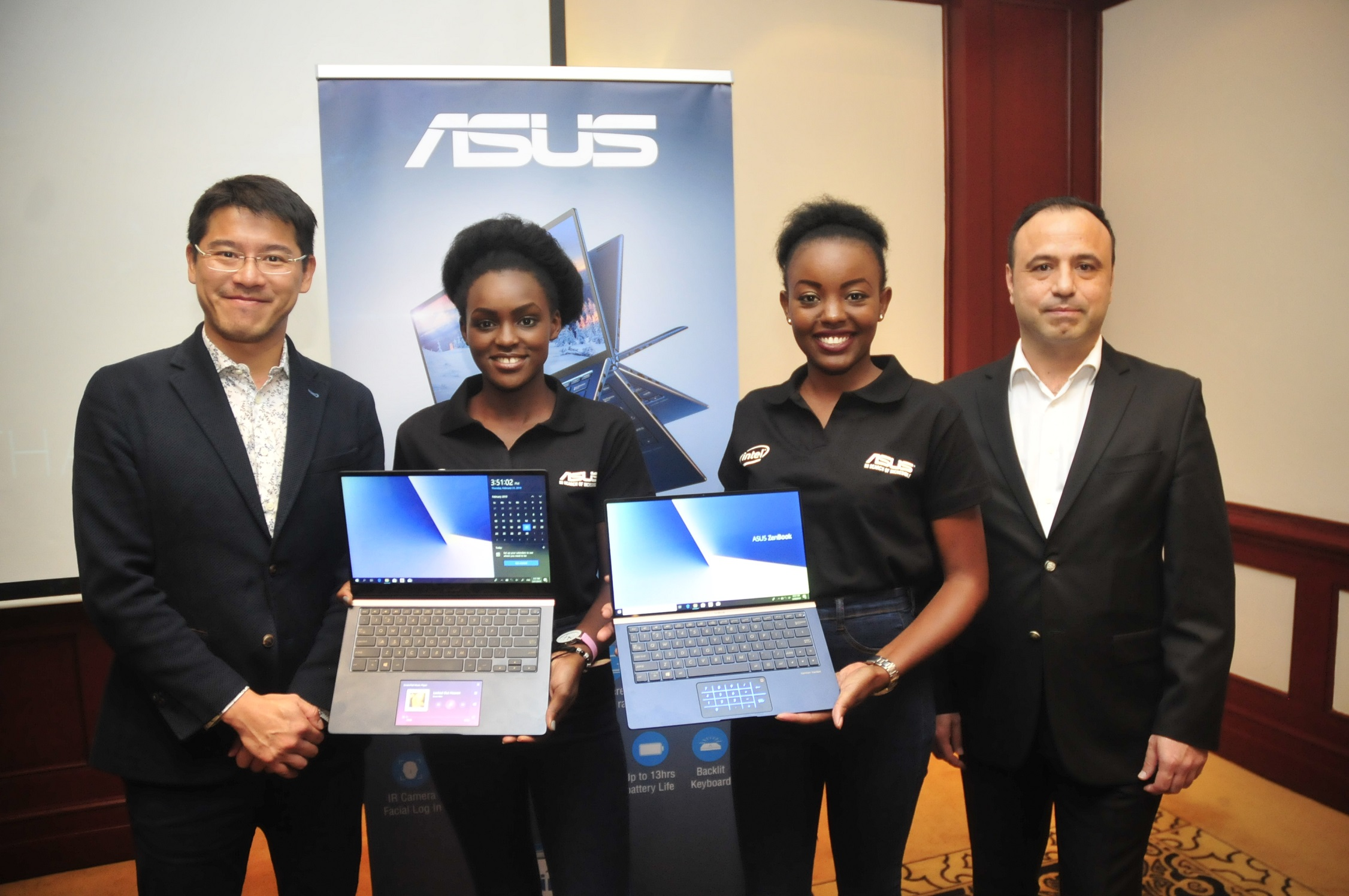 ASUS 在肯亞奈洛比舉辦ZenBook、VivoBook及TUF Gaming系列筆電產品發表會