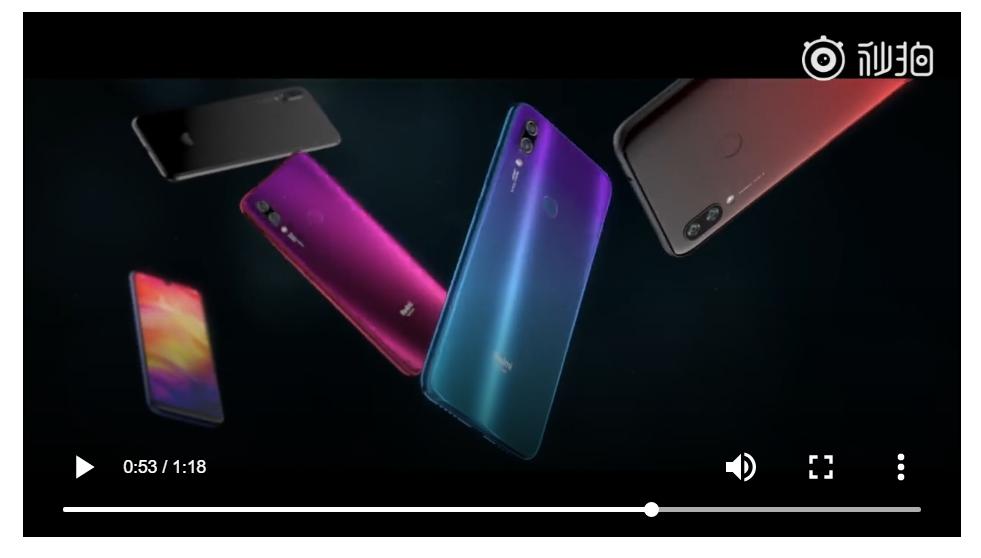 Redmi 紅米 新品手機的背面使用雙鏡頭
