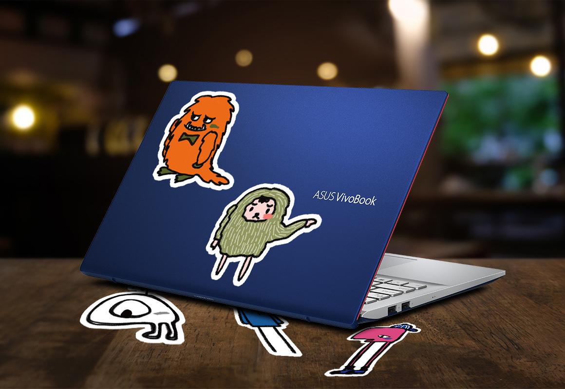 ASUS體驗會,現場完成指定任務,可獲得VivoBook個性帆布包、潮流塗鴉貼紙等精美好禮。