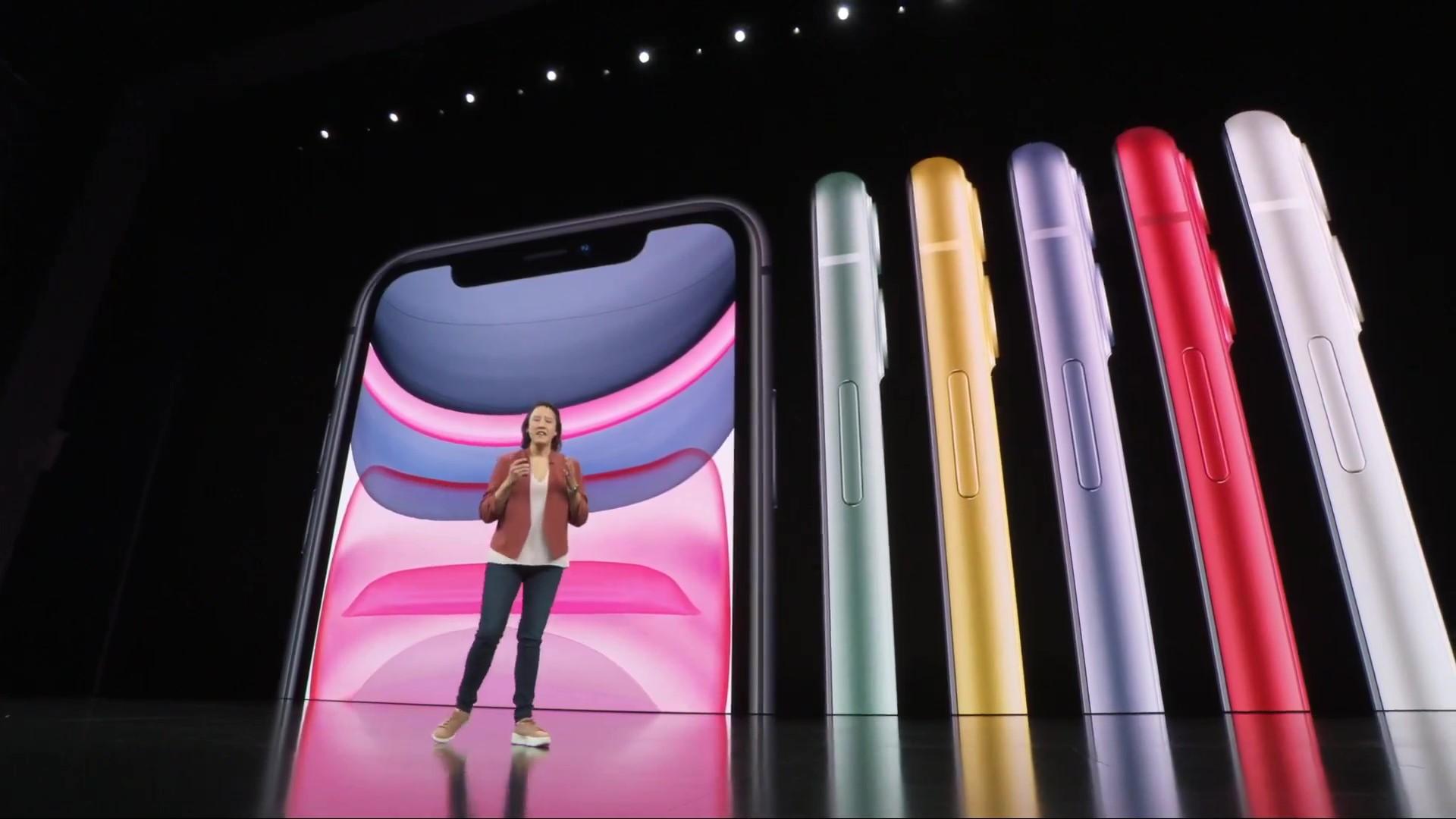 iPhone 11 推出六種顏色