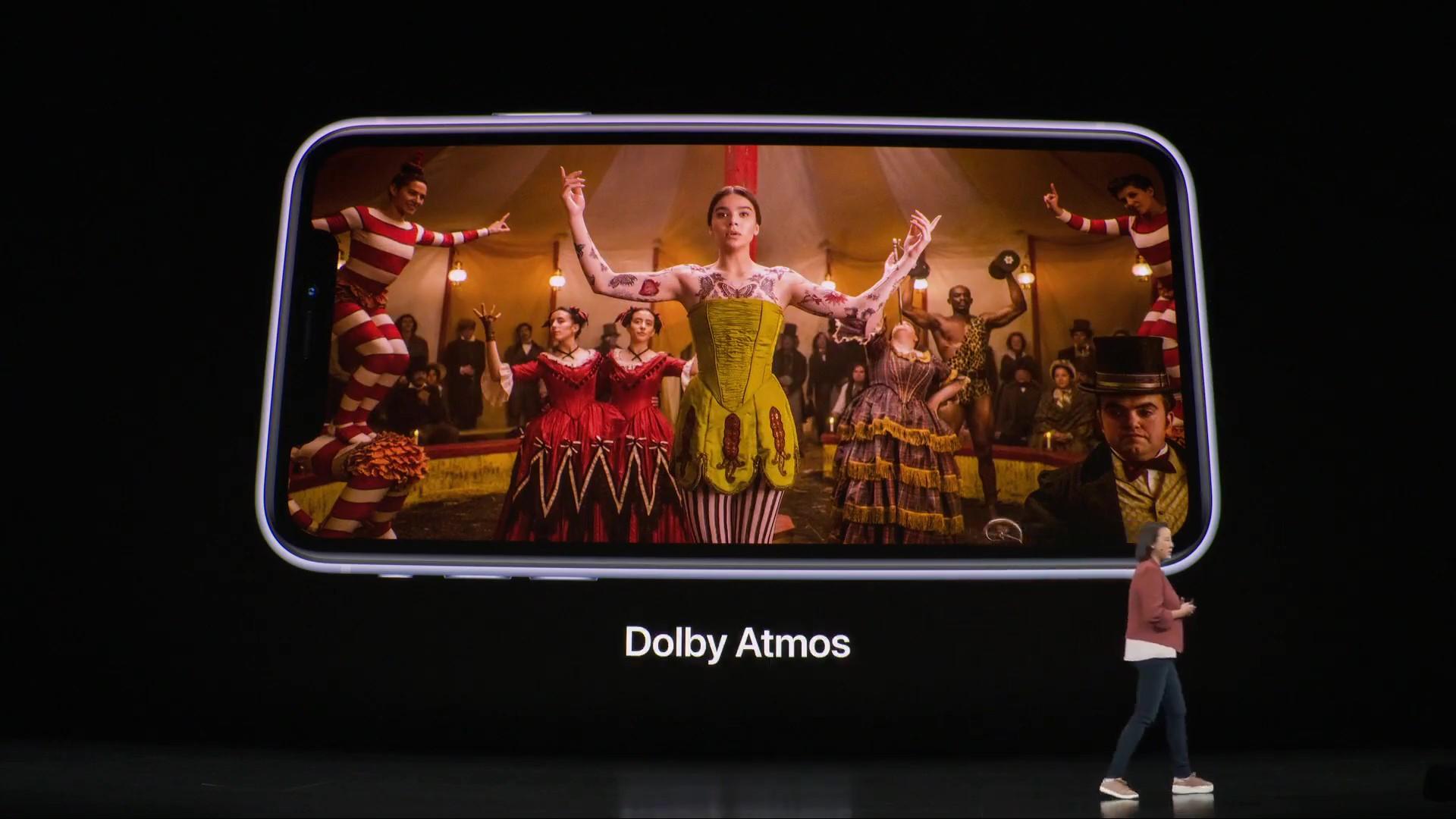 支援 Dolby Atmos