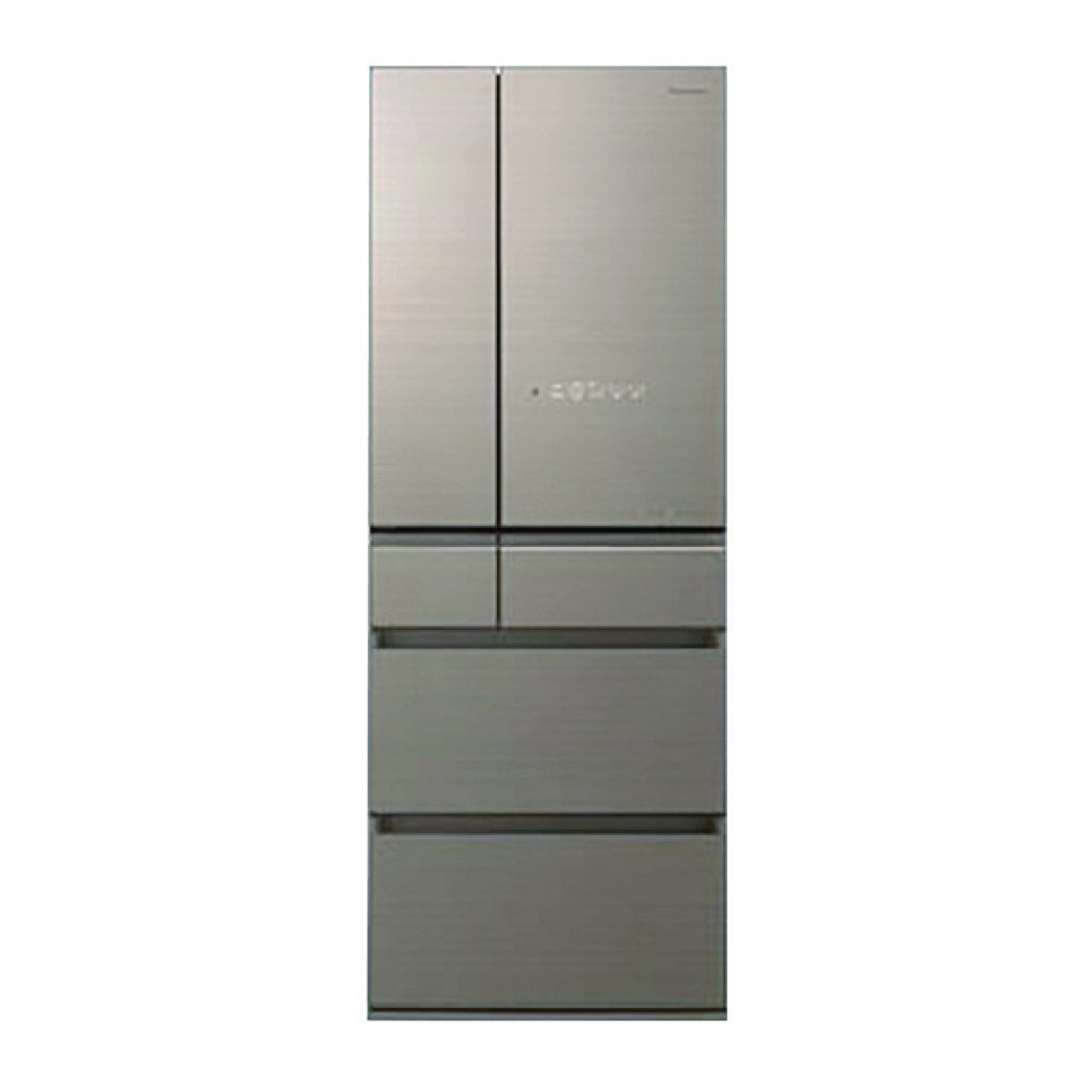 Panasonic 600公升 六門變頻玻璃冰箱