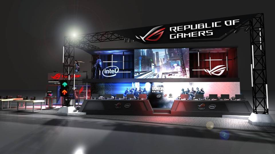 ROG 傾力打造「六號基地」駐紮台北電玩展 邀玩家挑戰攻堅任務