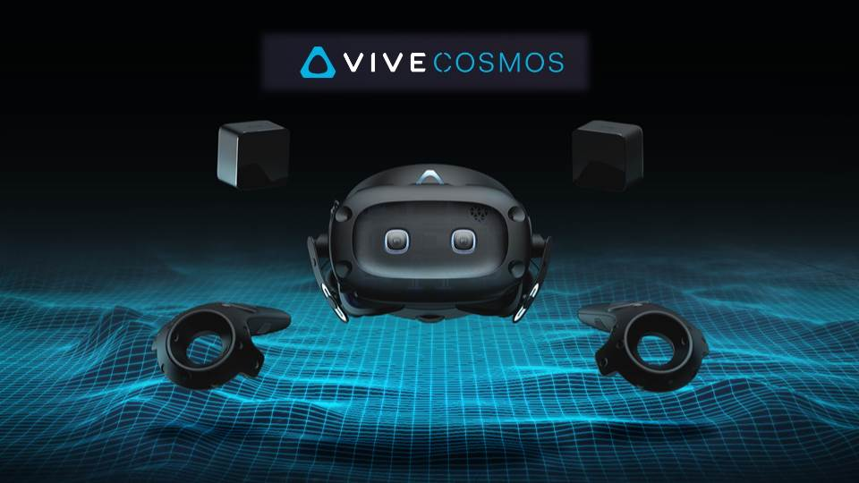 VIVE COSMOS 完整系列登場! Elite、XR、Play完整你的VR夢!