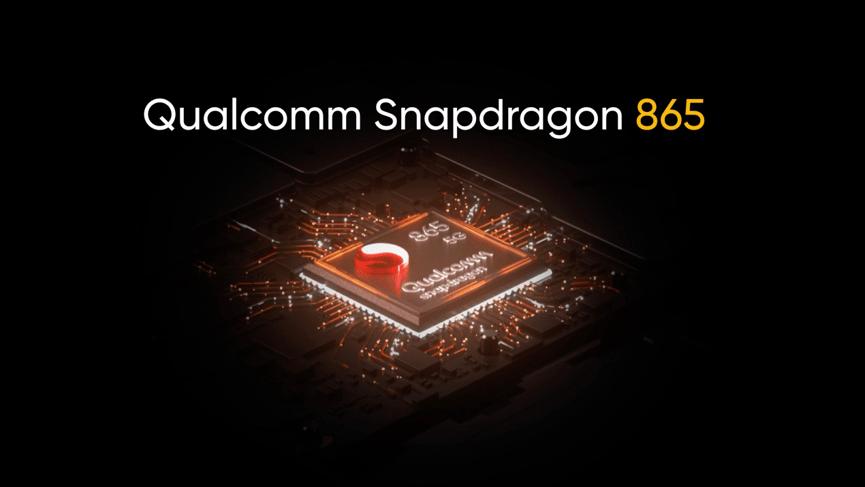 realme X50 Pro 5G 搭載Qualcomm Snapdragon 865 5G旗艦處理器。