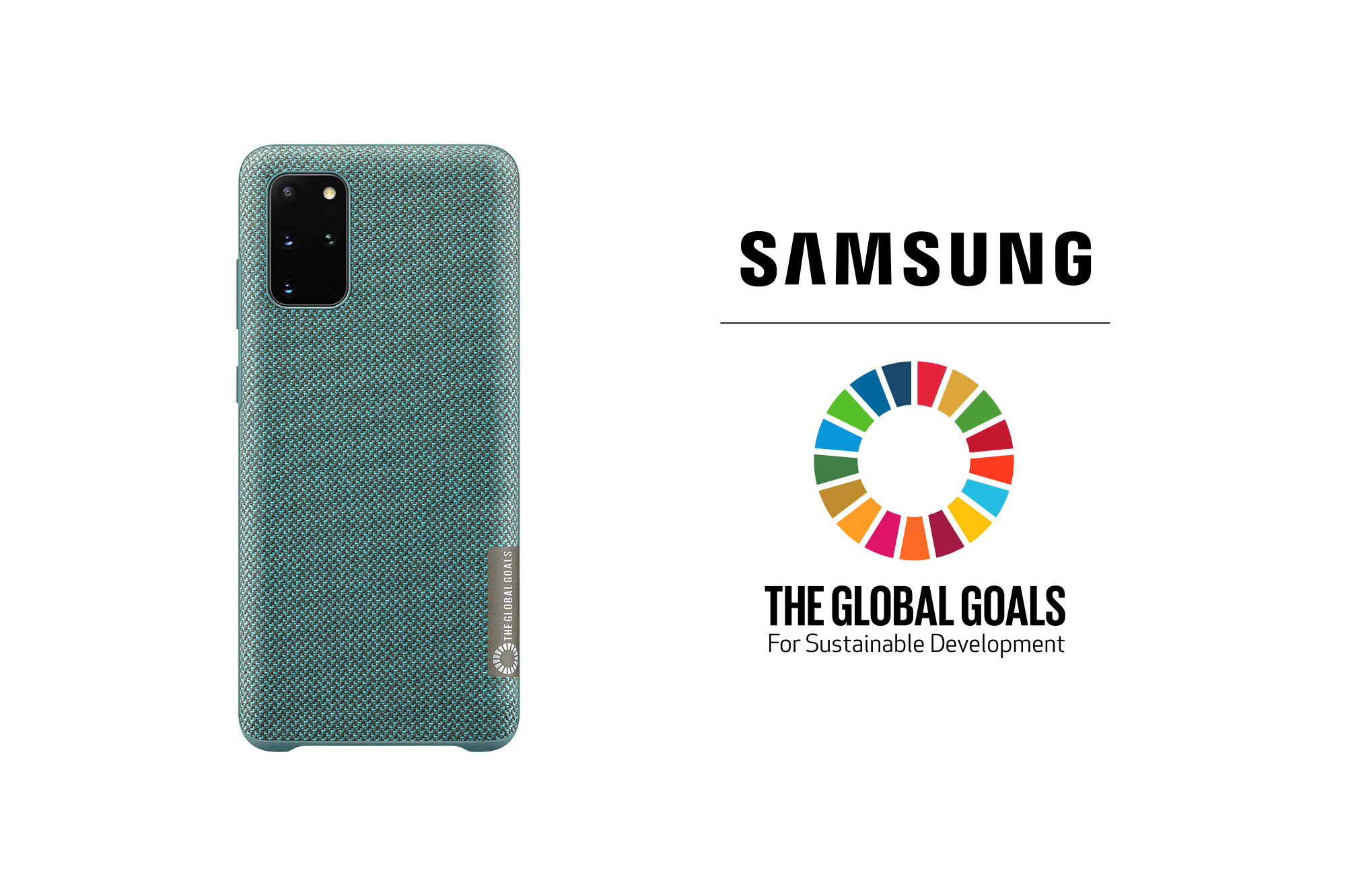 Galaxy S20+「Samsung Global Goals」限定版背蓋以Kvadrat織料製成