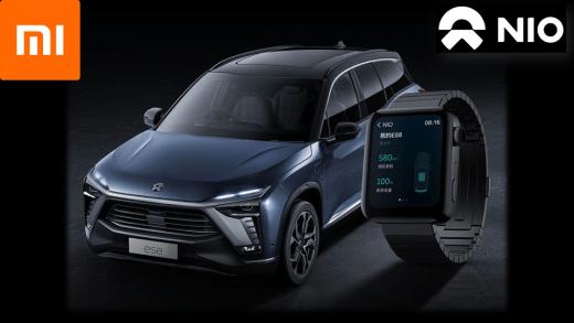 Mi 與 NIO 合作 小米手錶 遠端遙控汽車?!