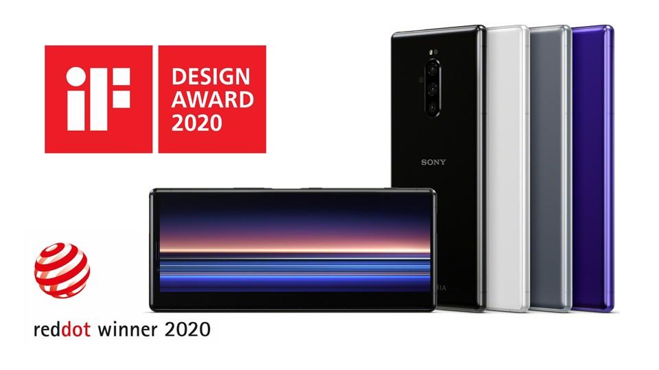 Sony Mobile 大師級手機 Xperia 1 屢獲國際大獎肯定