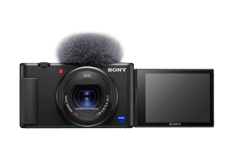 1) Sony 發佈全新概念的隨身數位相機ZV-1,專為輕影音拍攝與影片內容創作者所設計,為Sony首款側翻式多角度螢幕的隨身相機機種。