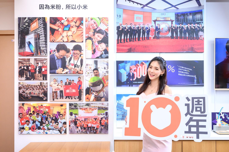 ,店內規劃專屬米粉牆面,曬滿了米粉們在小米台灣官方Facebook粉絲頁號召之下,提供與小米最珍貴的獨家回憶。