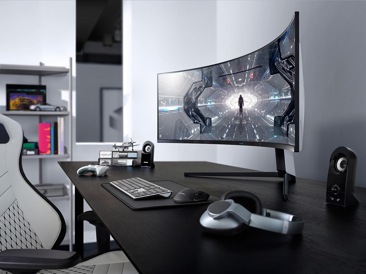 5】Odyssey G9全球首款雙2K曲面電競螢幕 49吋超廣視角 競敵無所遁形