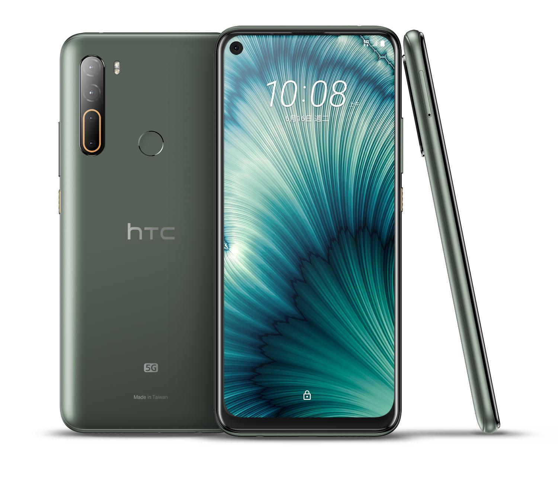 HTC新聞圖檔(HTC U20 5G墨晶綠)