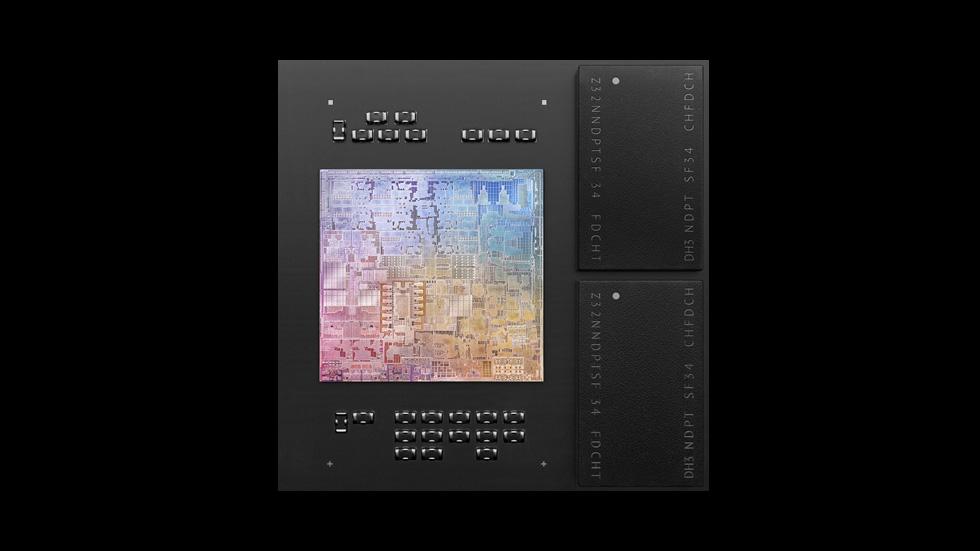 M1 是第一個使用先進 5 奈米製程技術所打造的個人電腦晶片,滿載驚人的 160 億個電晶體。