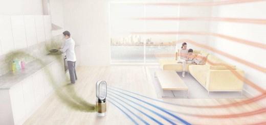 Dyson-Pure-Hot+Cool-Cryptomic™-三合一涼暖智慧空氣清淨機HP06,經實證可濾除甲型流感病毒及腸病毒
