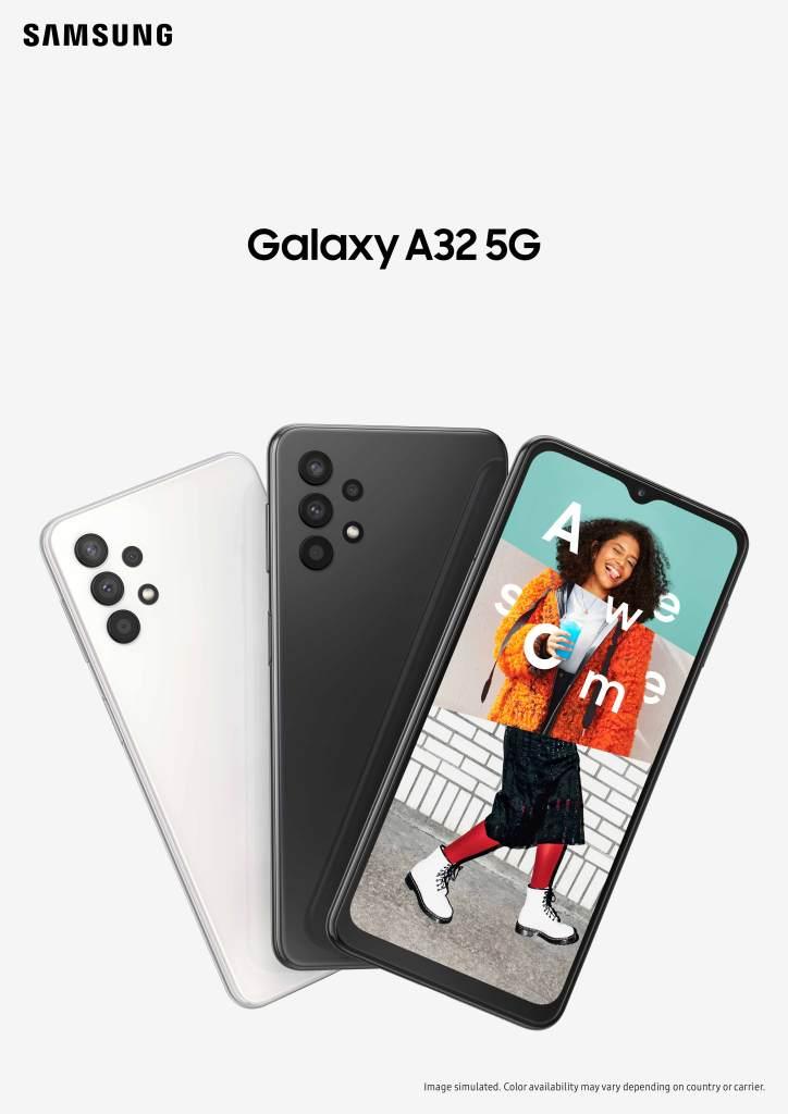 三星 Galaxy A32 5G 「豆豆機」新春報到