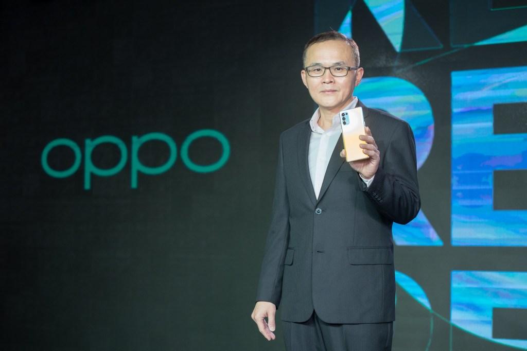 OPPO台灣市場總經理施晃嘉表示OPPO Reno5系列新機將提供消費者前所未有的攝錄影體驗
