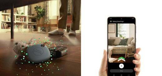 Galaxy-SmartTag搭載BLE及UWB,輔以擴增實境(AR)技術,精準度更上一層樓