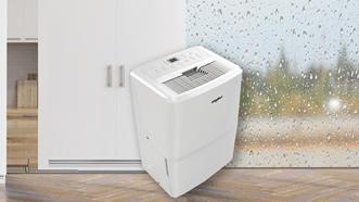 梅雨季節來臨,潮濕難耐的天氣容易滋生細菌,導致過敏兒皮膚發癢、打噴嚏等症狀層出不窮。惠而浦除濕機採大容量設計,幫助消費者把關居家空氣品質輕鬆不費力!