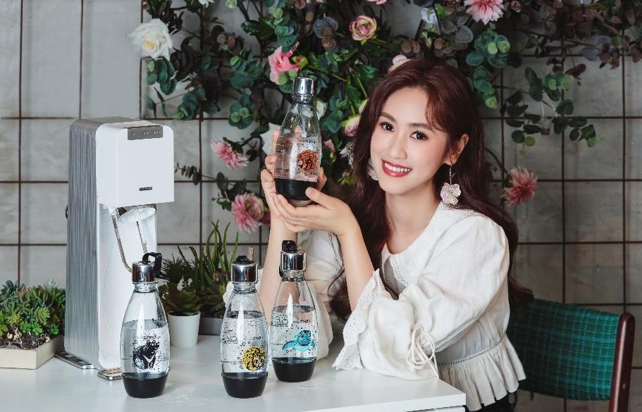 sodastream於盛大推出台灣限定【愛台灣動物水瓶】,呼籲消費者有意識的關注環境及生態,品牌更與台北市立動物園合作,銷售5%捐入動物認養專戶,為台灣的野生動物保育盡心力!