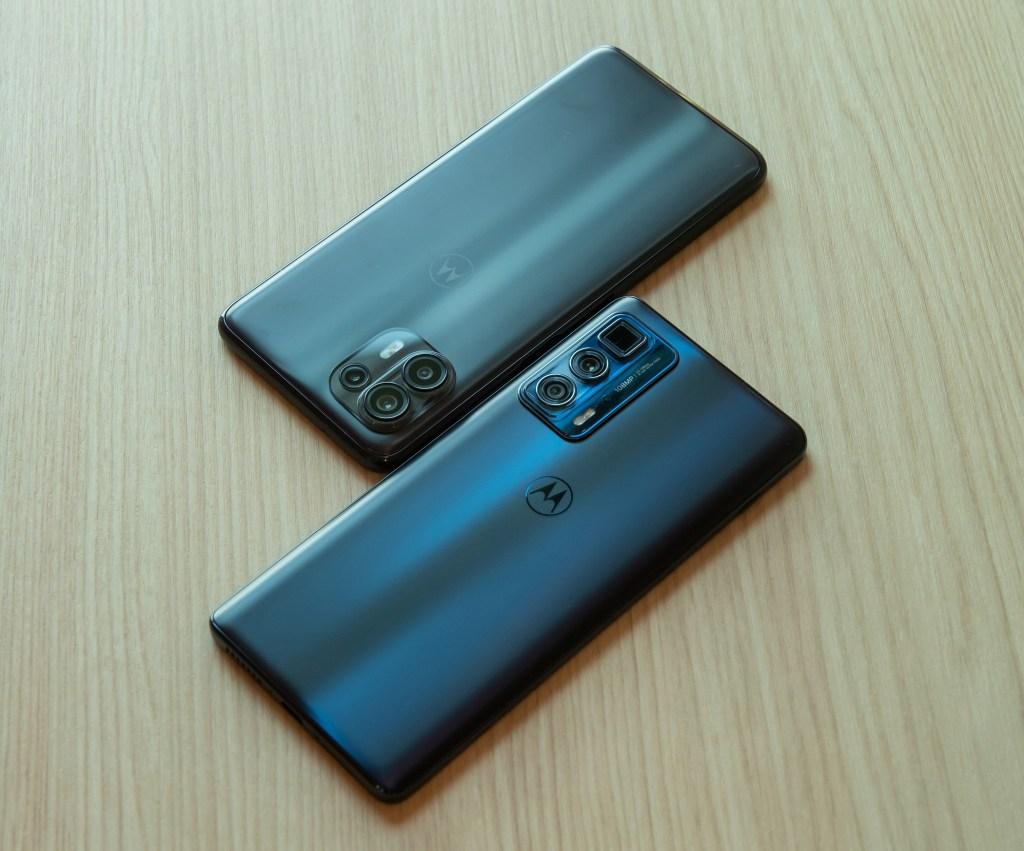 Motorola-edge-20-fusion金屬灰上及edge-20-pro暗夜藍下上市。
