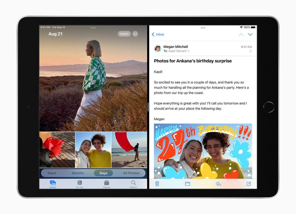 iPad OS 15 帶來更多獨特性能,挑戰 iPad 的極限。