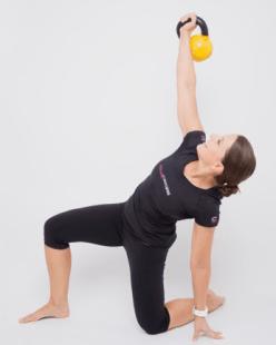 Functional Training; turkish get up mit der Kettlebell