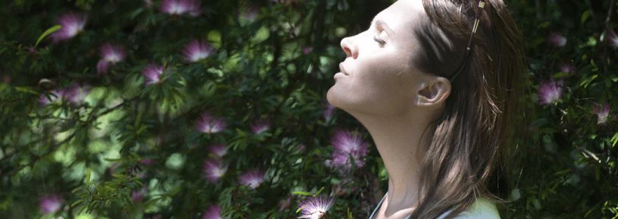 Schnell entspannen durch bewusstes Atmen.