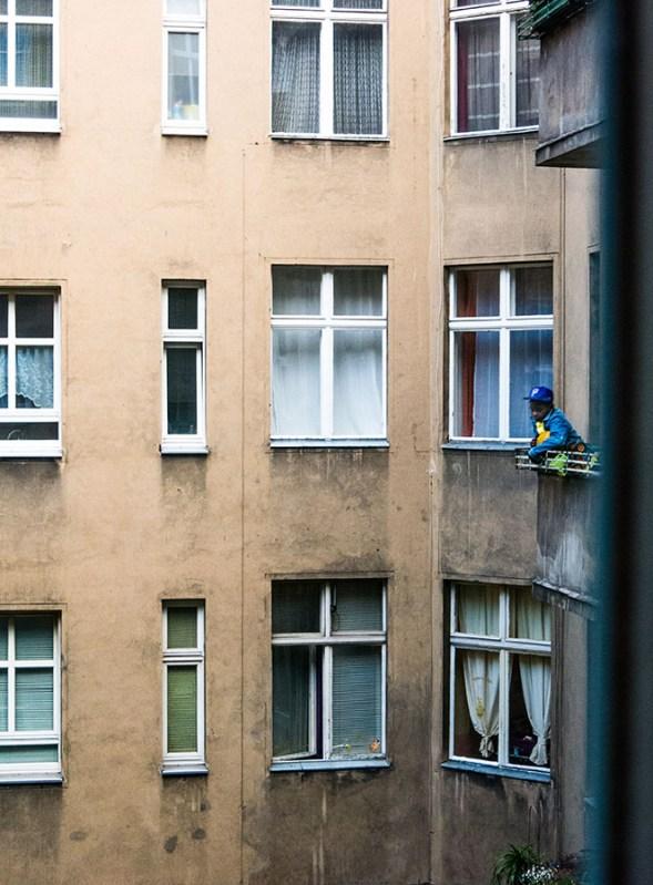Foto, Berliner Hinterhof