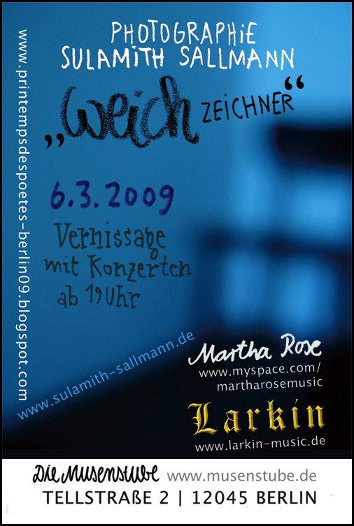 Ausstellungsflyer Weichzeichner
