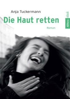 Coverfoto, sw-Foto, lachende junge Frau
