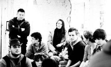 Asamblea im Café coop, Berlin-Mitte, 9.1.2012