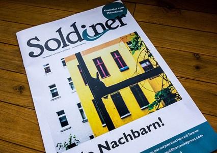 Soldiner, Coverfoto, Sulamith Sallmann