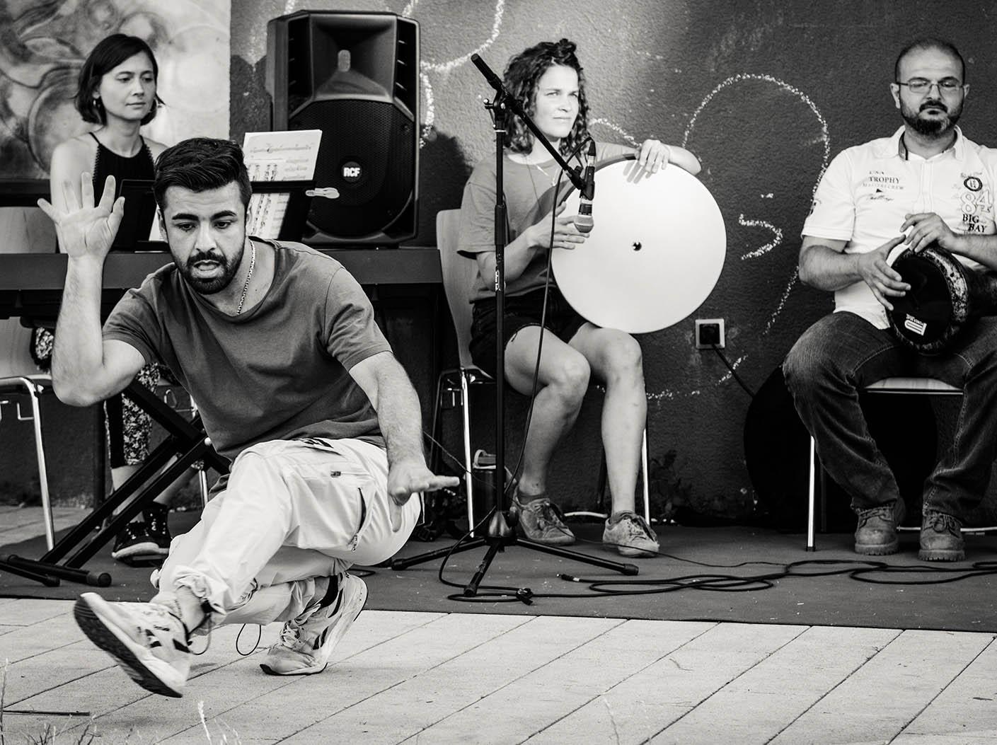 Tänzer und Musiker