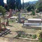 Carbonia. Esumazioni nel cimitero