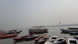 On the banks of the holy Ganges (Varanasi)