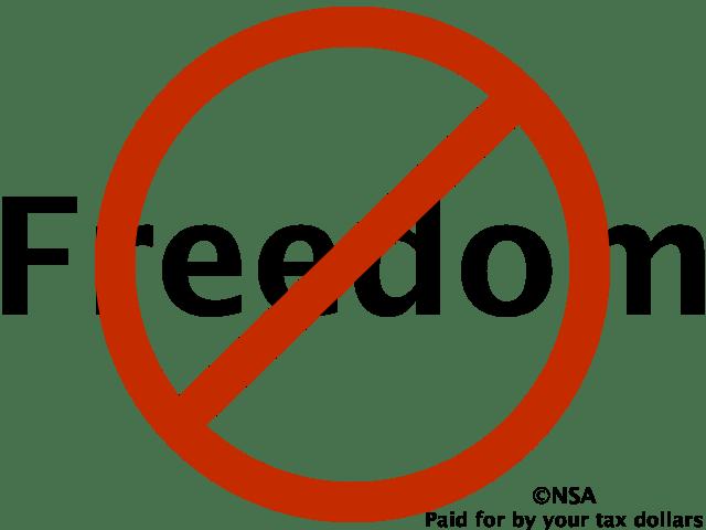 No Freedom, copyright NSA