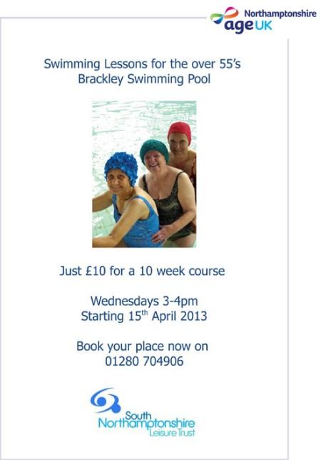 Brackley swimming lessons.