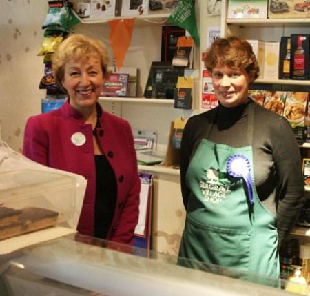 Andrea at the Village Shop