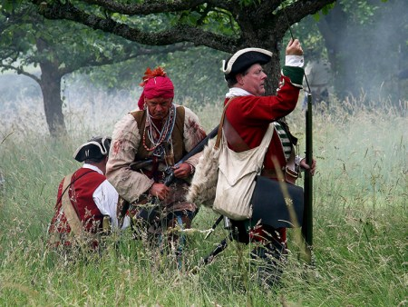 BRITISH ARMY AND RED INDIAN 02