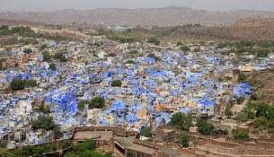 città blu