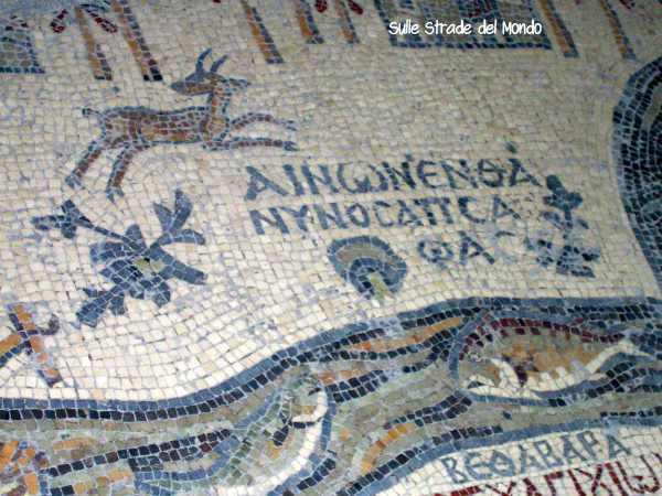 Mosaico mar morto