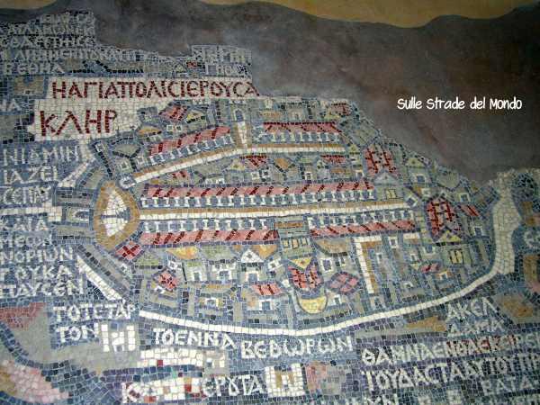 Mosaico di Gerusalemme