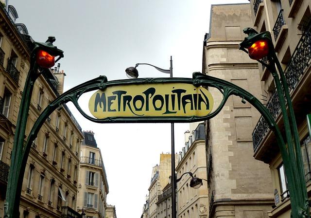 Ingresso metropolitana Parigi