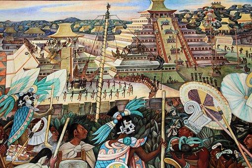 Diego Rivera murales delPalacio Nacional