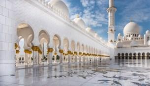 grande moschea Sheikh Zayed