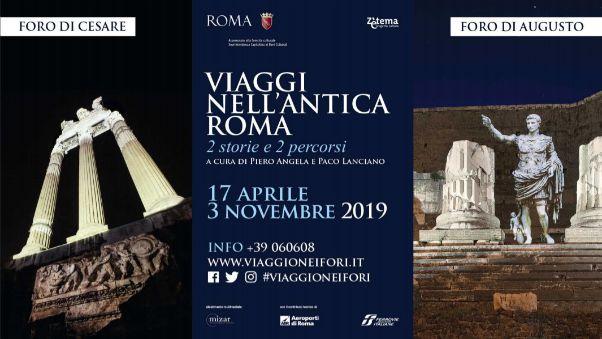 Viaggi nell'antica Roma: vivi la storia romana in 2 eventi