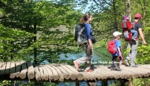 escursionisti plitvice